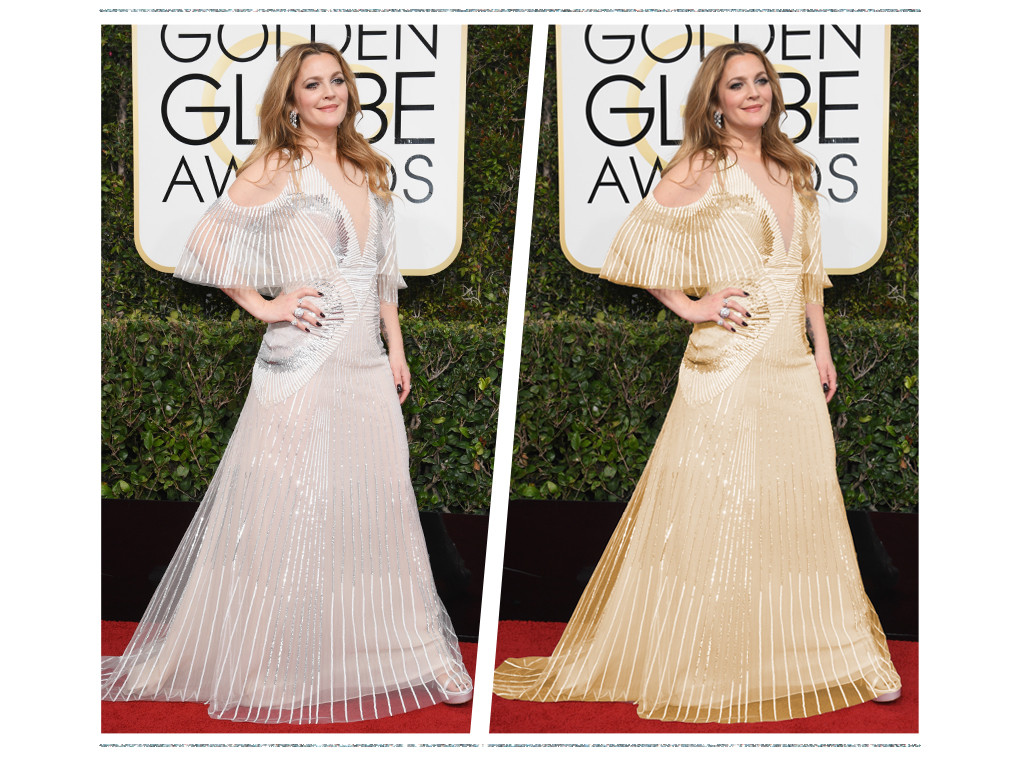 ESC: Golden Globe Color Swap, Drew Barrymore