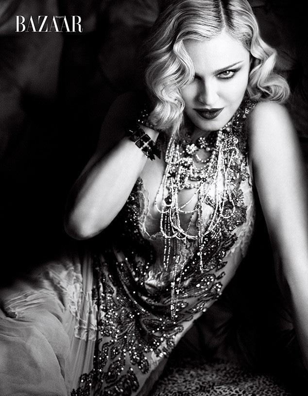 Madonna, Harper's Bazaar