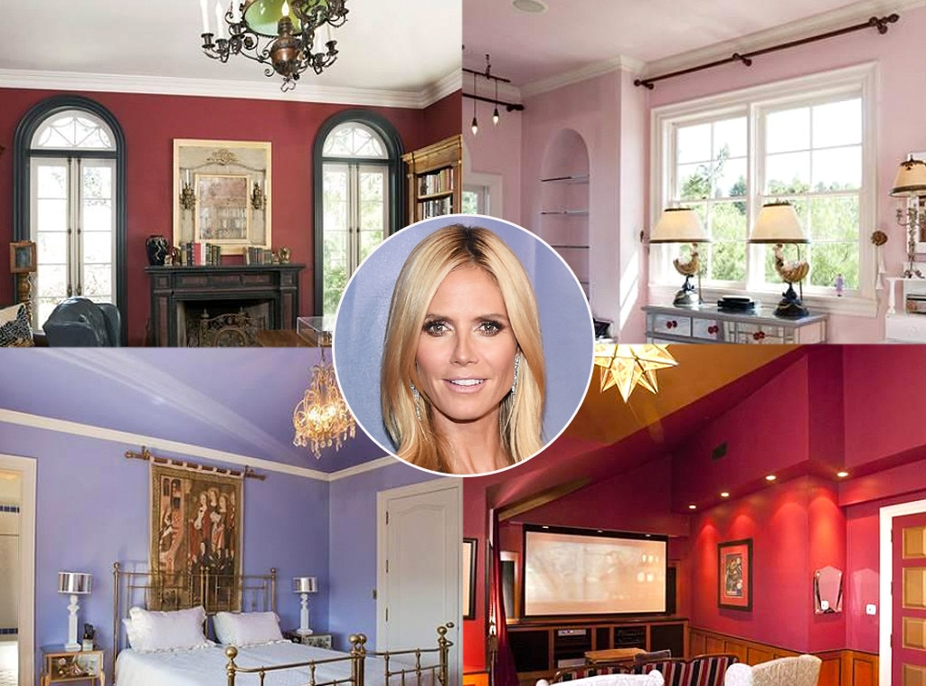 Heidi Klum -  Movin' on up! The iconic catwalk queen relocated to an 11,000-square-foot estate in Bel Air following the end of her seven-year marriage to singer  Seal .