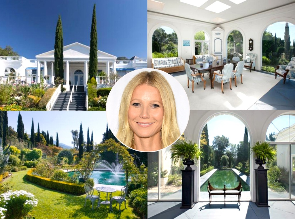 Gwyneth Paltrow -  The lifestyle guru's divorce from  Coldplay  frontman  Chris Martin  was finalized in 2016, so what better way to celebrate than by expanding your real estate portfolio with a new oceanfront estate in Santa Barbara?!