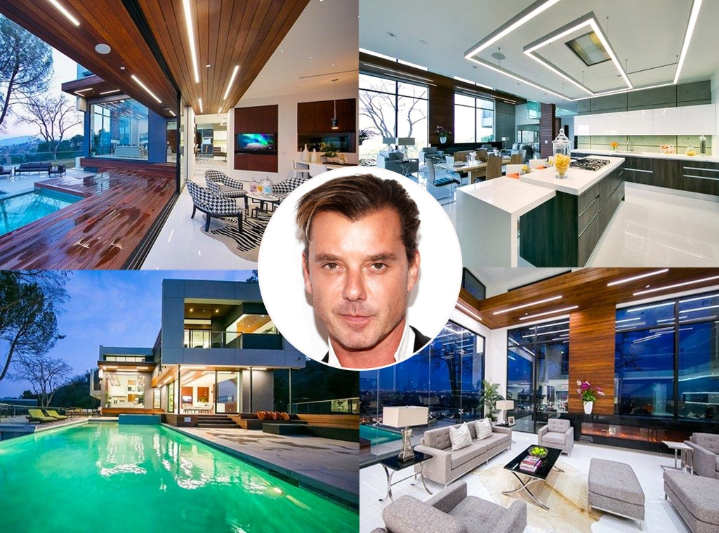 Gavin Rossdale -  Talk about making a statement. When the rocker and  Gwen Stefani  ended their relationship, Gavin up and bought the most expensive home in Studio City, Calif.