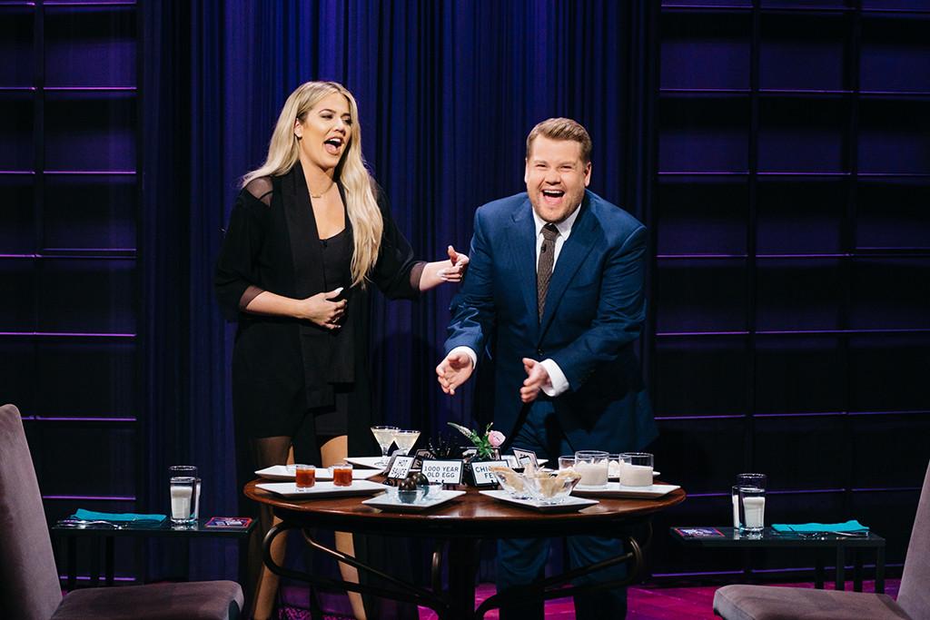 Khloe Kardashian, James Corden, The Late Late Show