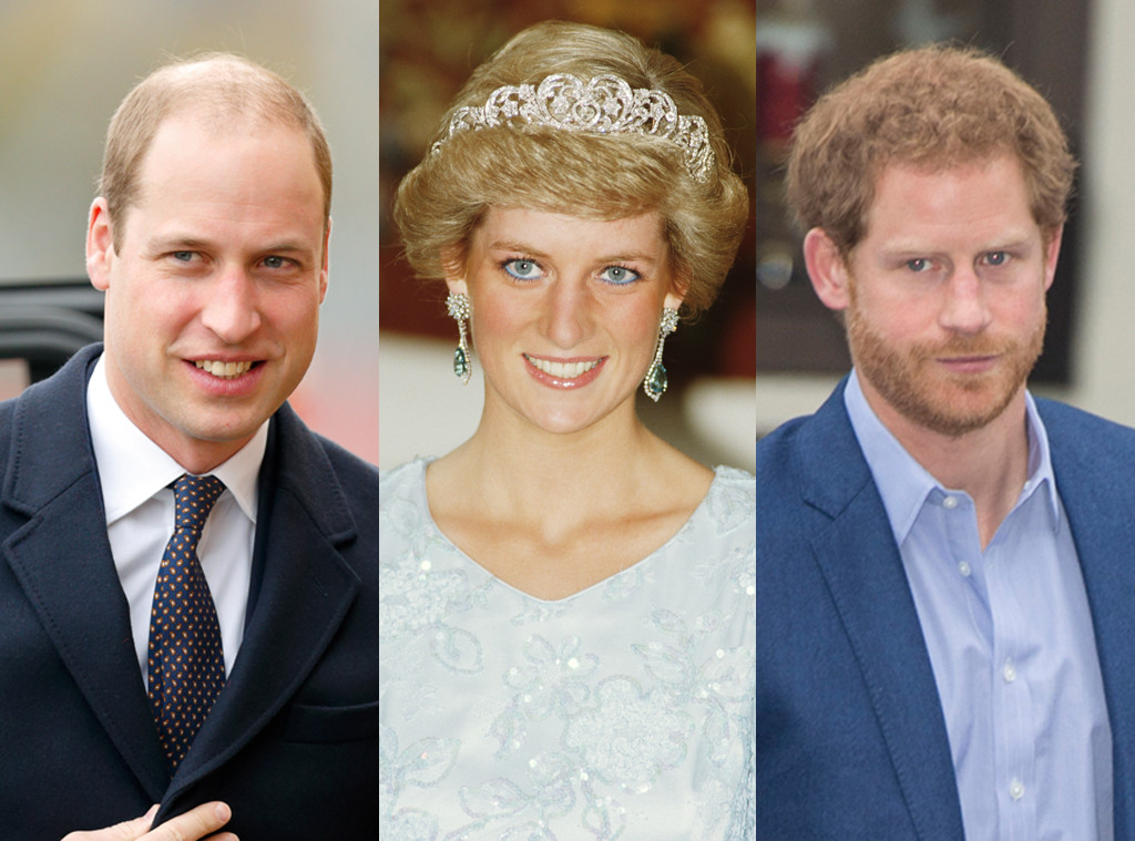 Prince William, Duke of Cambridge , Princess Diana , Prince Harry
