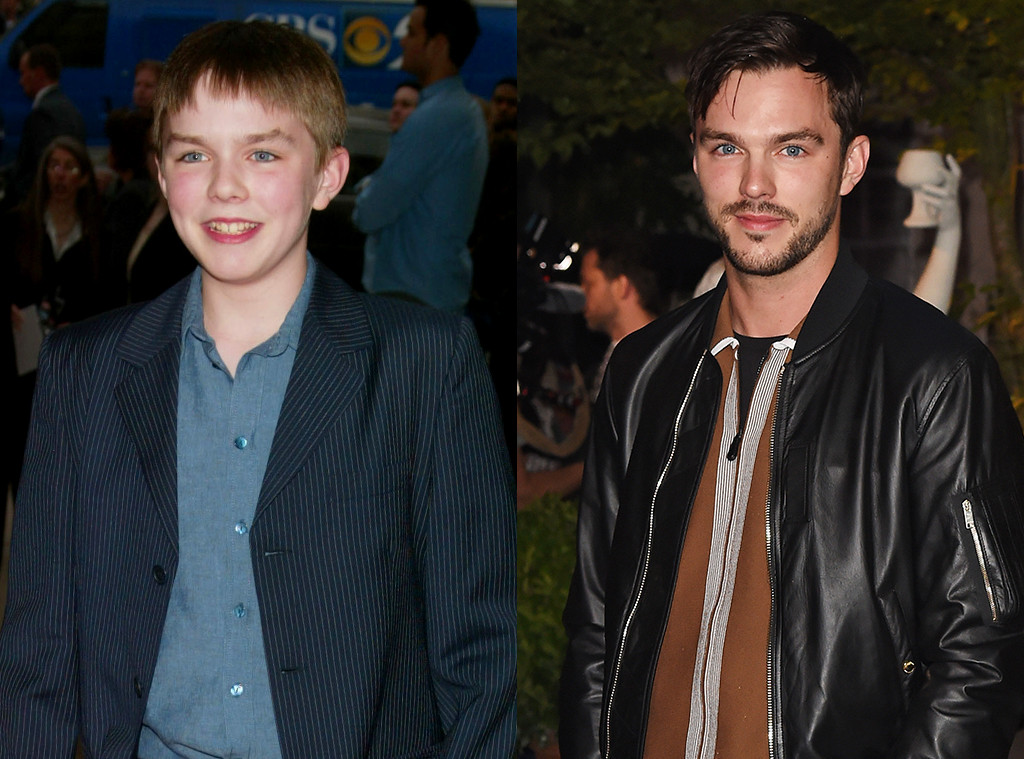 Then and Now, Nicholas Hoult