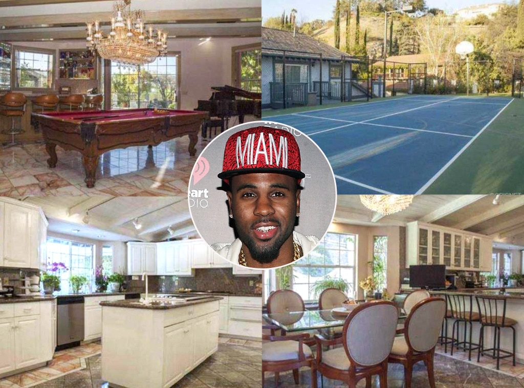 Jason Derulo -   Need bachelor pad inspo? Look no further than the R&B crooner's $3 million compound in Tarzana, Calif., which he purchased after his romance with  Jordin Sparks  went south.
