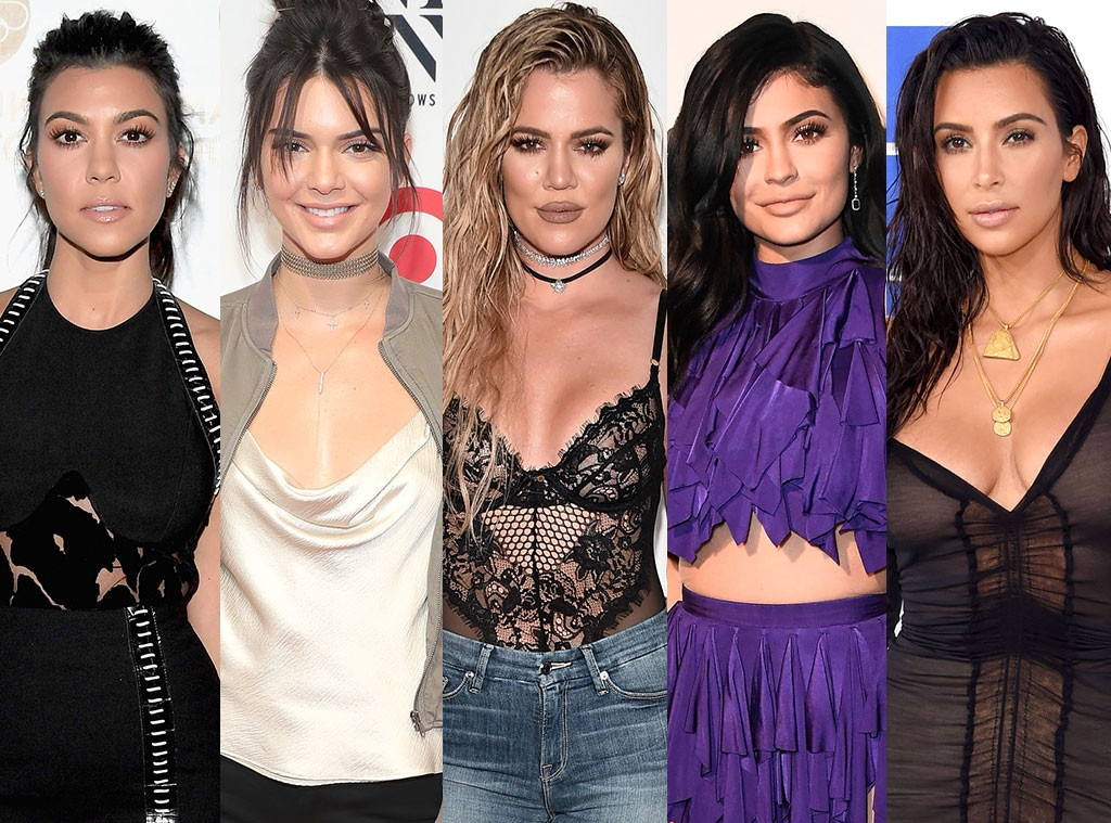 Kourtney Kardashian, Kendall Jenner, Khloe Kardashian, Kylie Jenner, Kim Kardashian