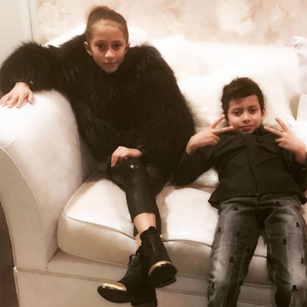 Celebrity Kids, Jennifer Lopez, Max, Emme