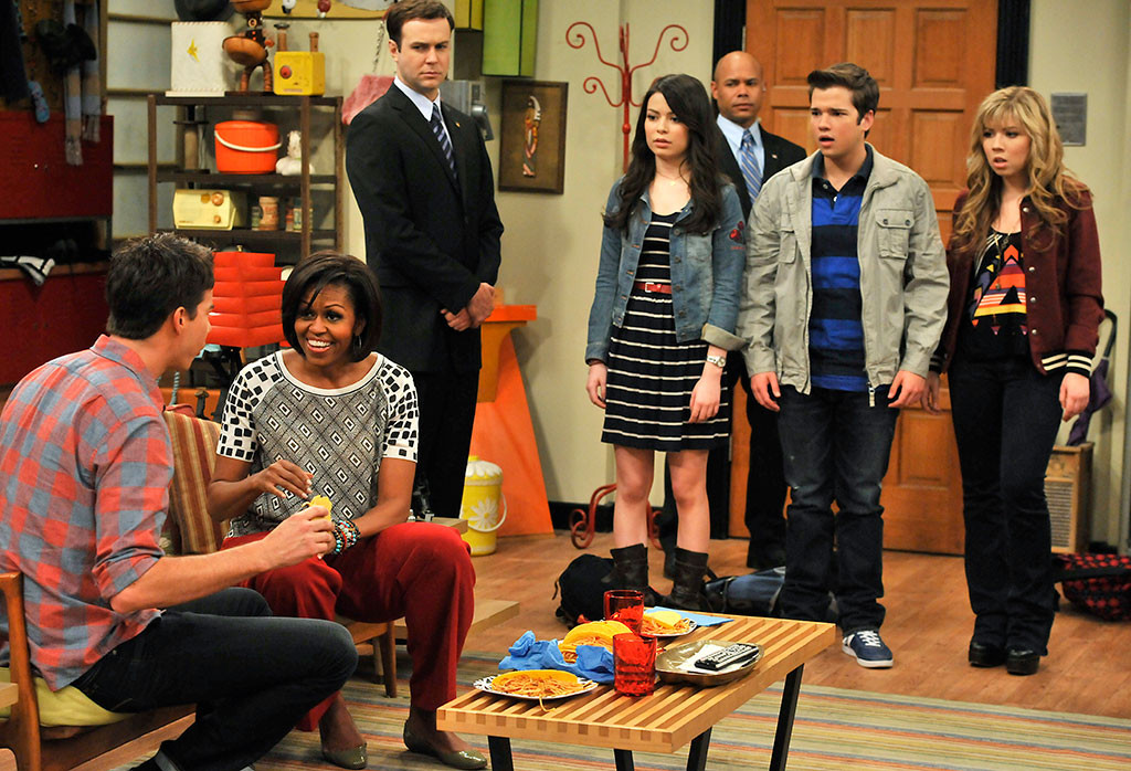 Michelle Obama, iCarly