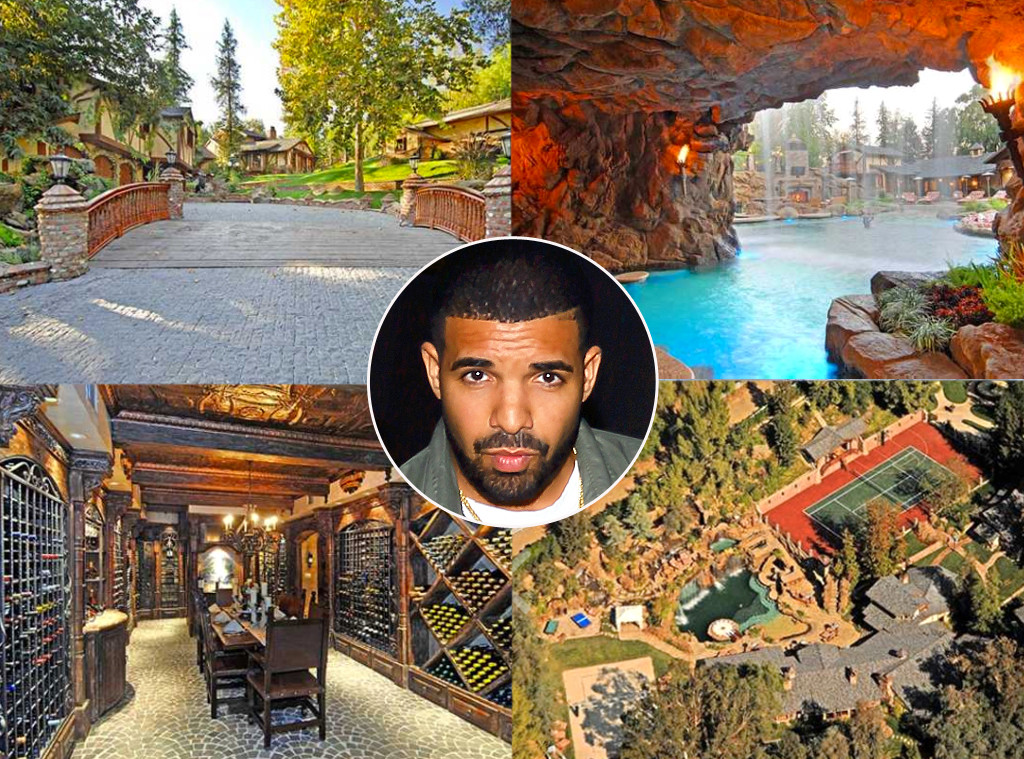 Celebrity Bachelor Pads, Drake, Real Estate