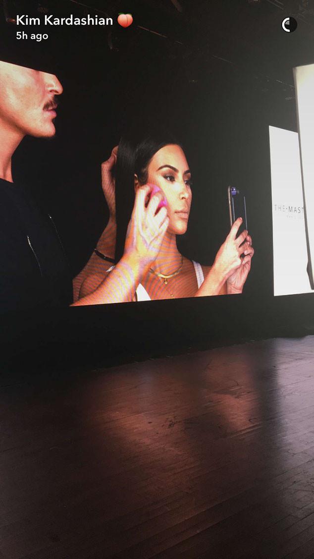 Kim Kardashian, Mario Dedivanovic, Makeup Master Class