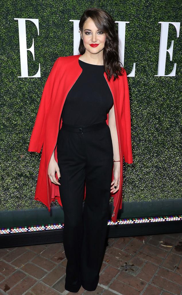 Shailene Woodley, ELLE Women In Television