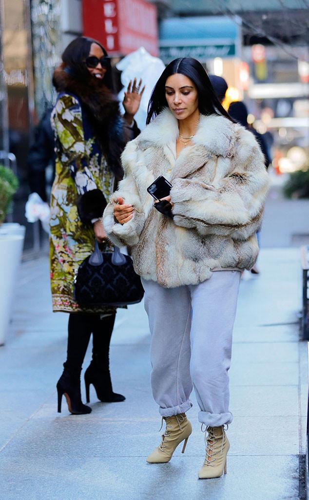 Kim Kardashian, Naomi Campbell