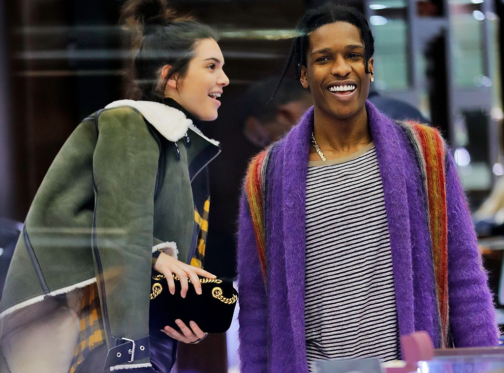 Kendall Jenner and A$AP Rocky Shop for Diamonds in NYC E!  E! News