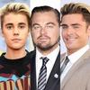 Leonardo DiCaprio, Justin Bieber, Zac Efron