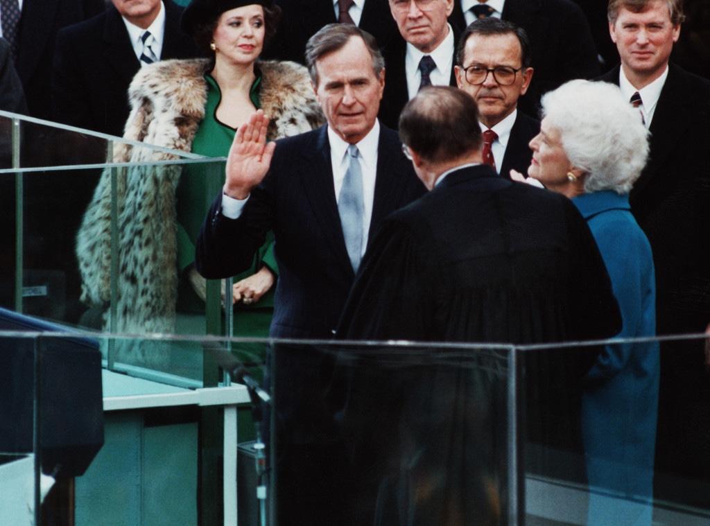 George H.W. Bush, Inauguration