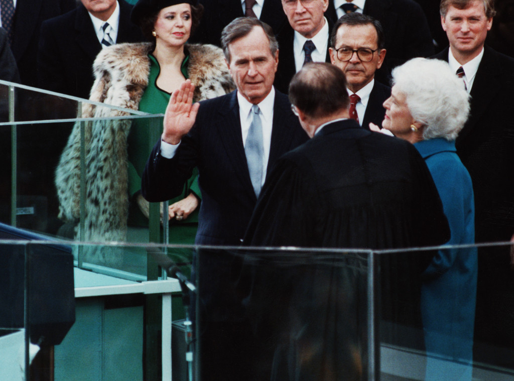 George H.W. Bush, Inauguration