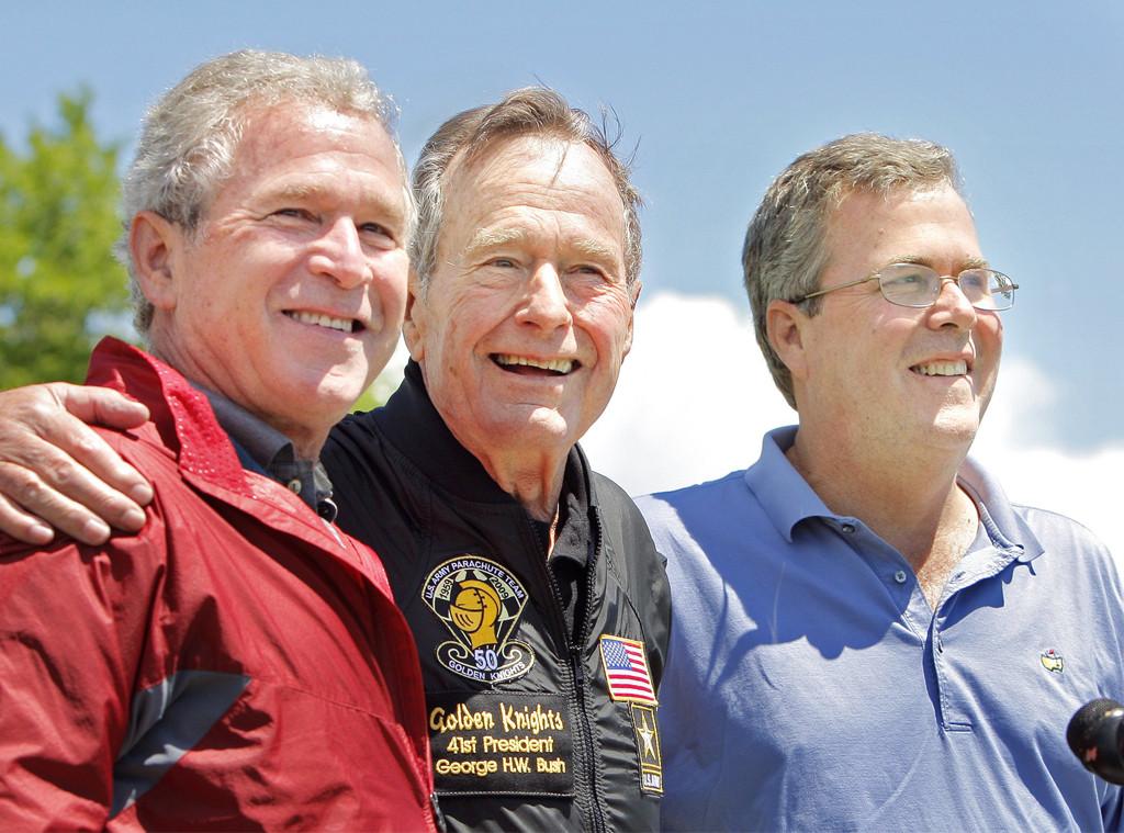 George H.W. Bush, George W. Bush, Jeb Bush