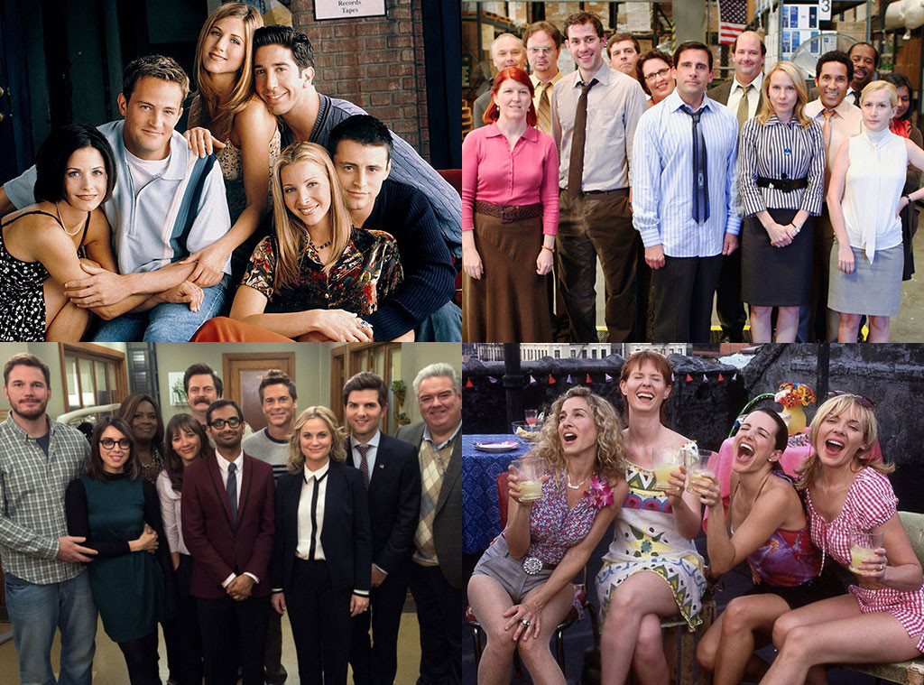 The Office, Parks and Recreation, Friends, Sex and the City