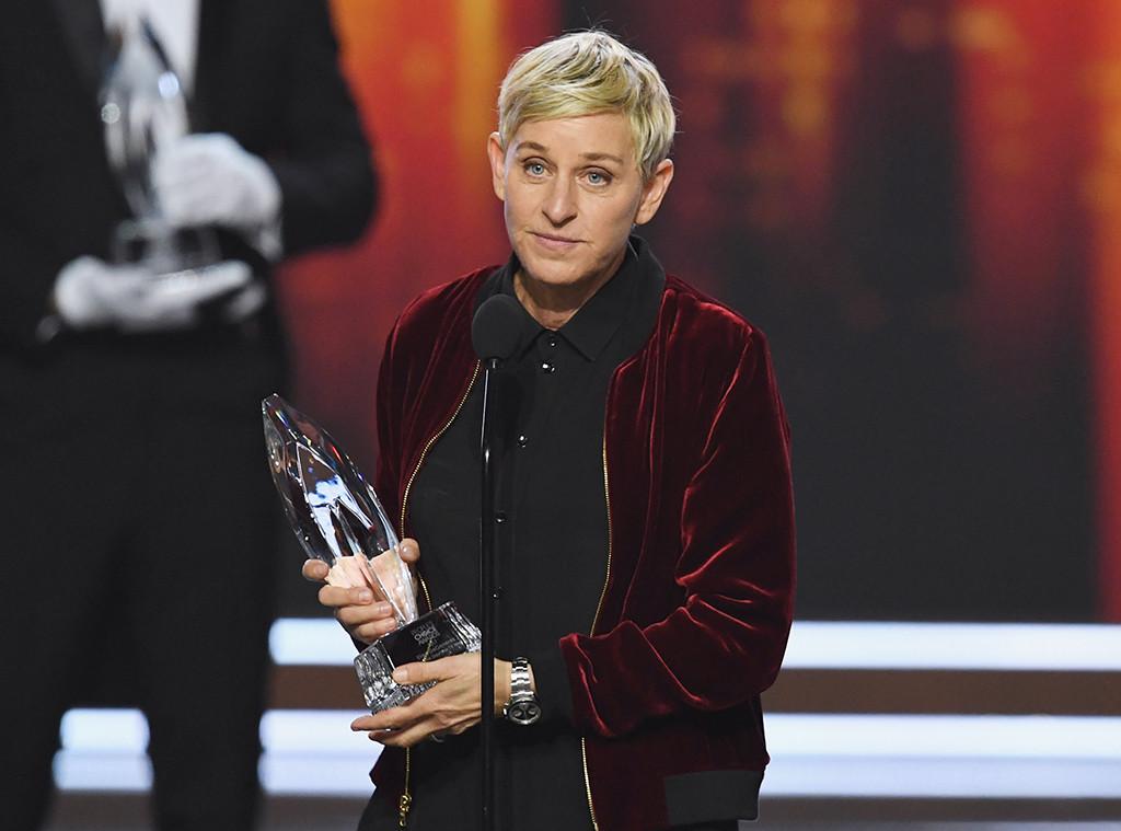 Ellen DeGeneres, 2017 Peoples Choice Awards