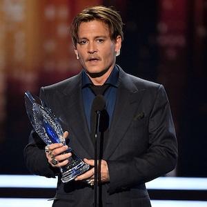 Johnny Depp, 2017 People's Choice Awards