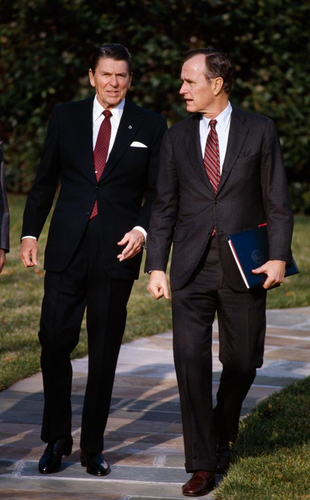 President Ronald Reagan, Vice President George H.W. Bush