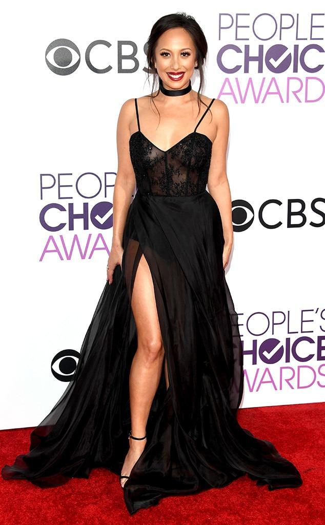 Cheryl Burke, 2017 Peoples Choice Awards