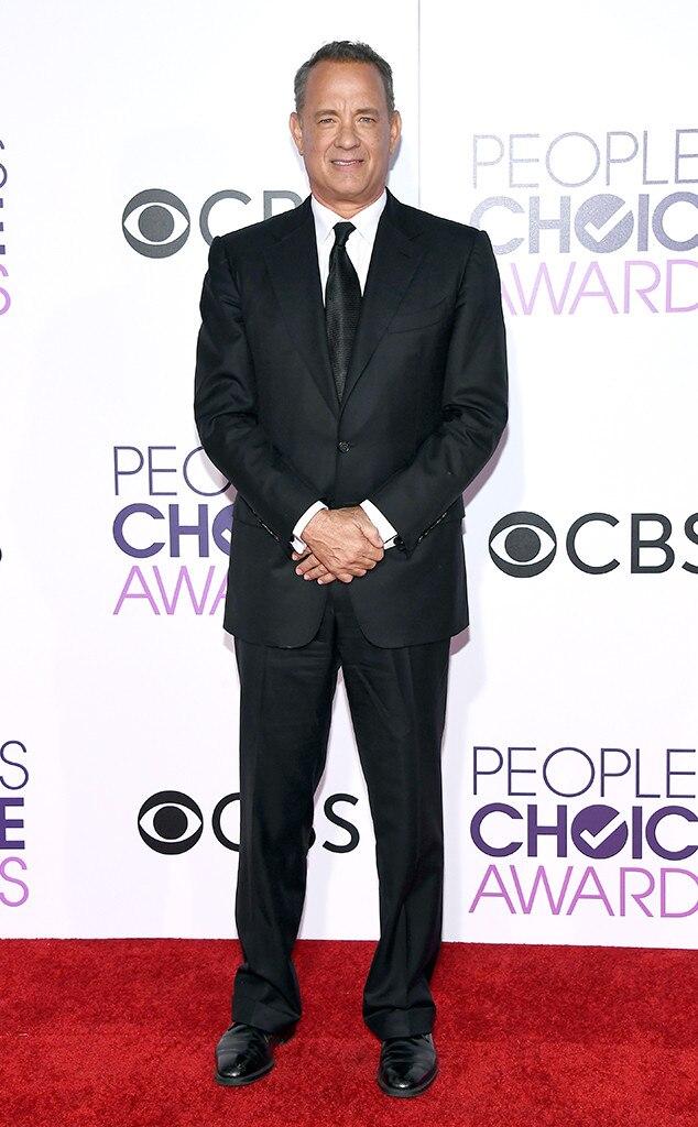 Tom Hanks, 2017 Peoples Choice Awards