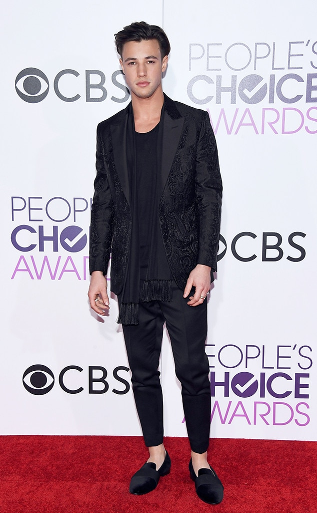 Cameron Dallas, 2017 People's Choice Awards