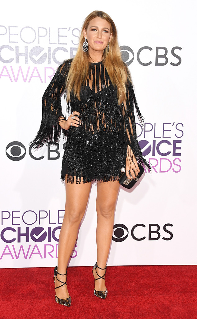 Blake Lively, 2017 Peoples Choice Awards