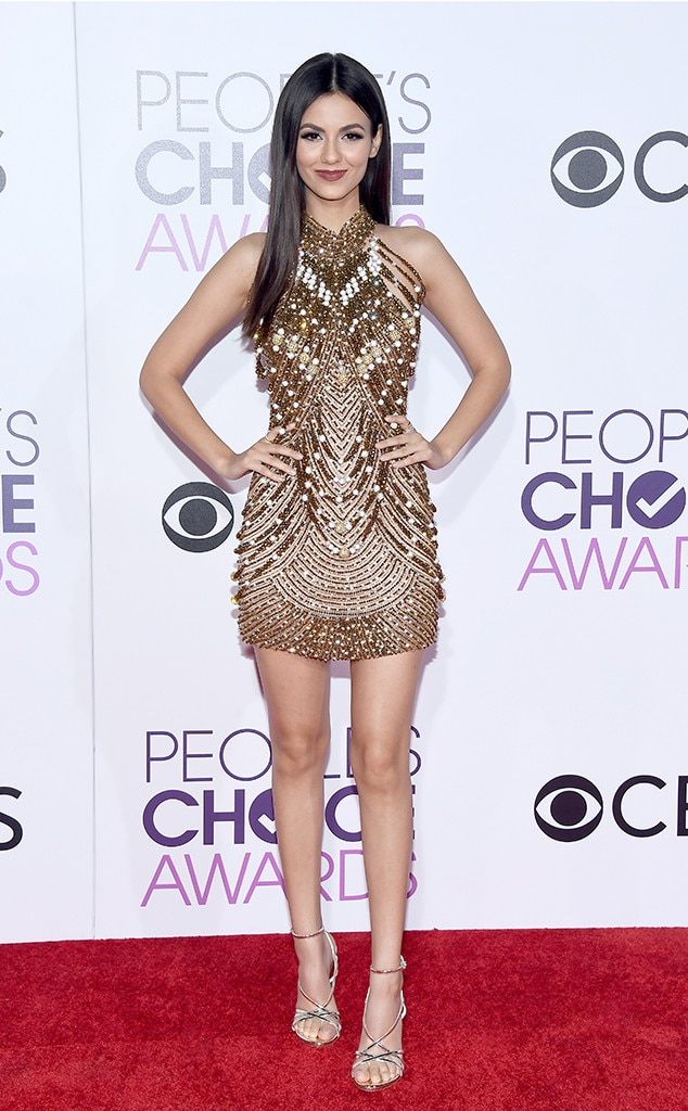 Victoria Justice, 2017 People's Choice Awards