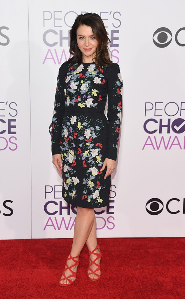 Caterina Scorsone, 2017 People's Choice Awards