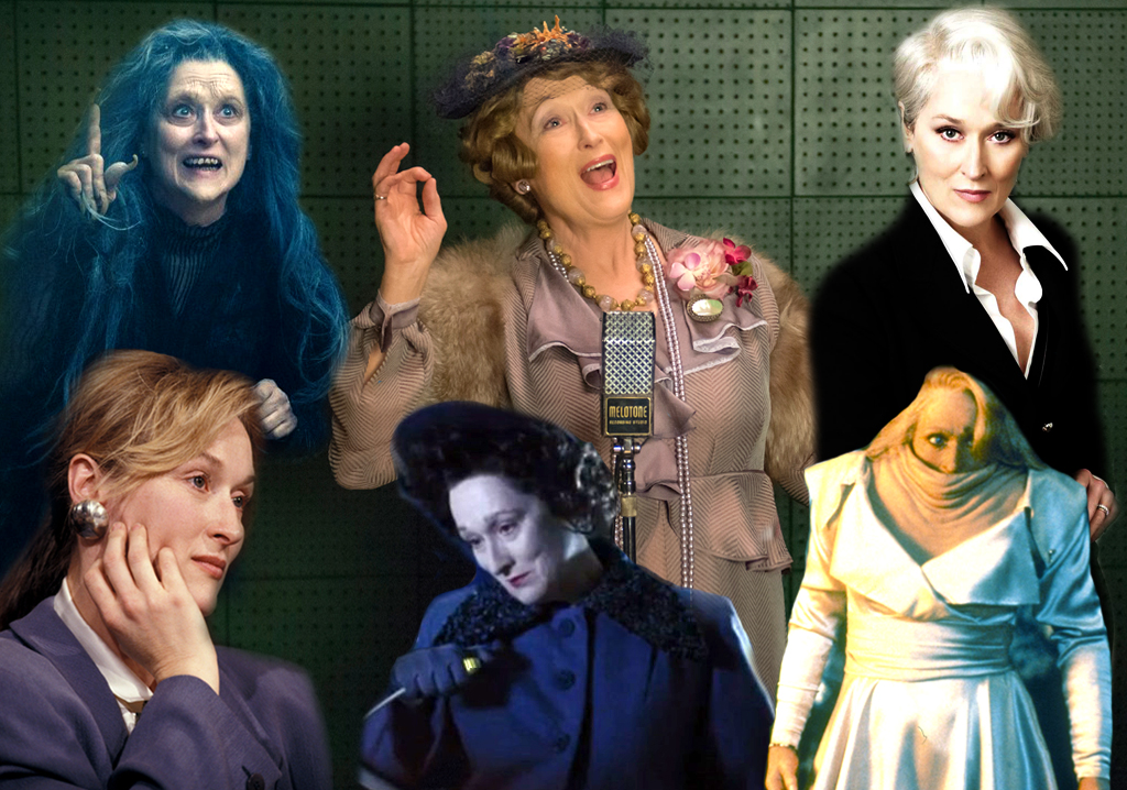 Meryl Streep Collage