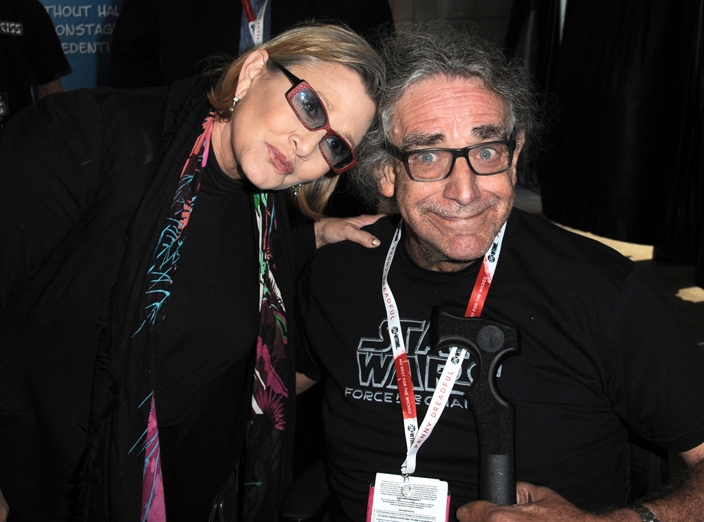 Peter Mayhew, Carrie Fisher