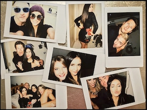 Nina Dobrev, New Year's Eve 2016
