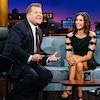 Nina Dobrev, James Corden, The Late Late Show