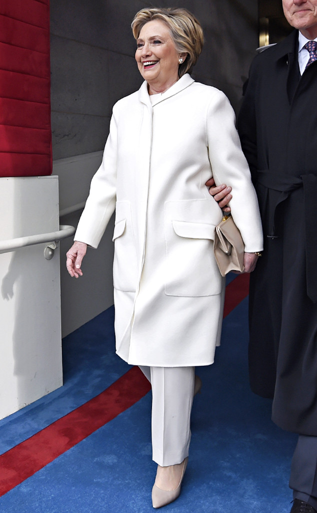 Hillary Clinton, Inauguration Fashion