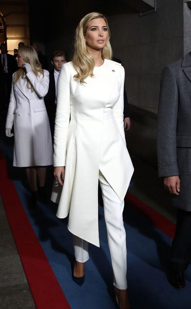 Ivanka Trump, Inauguration Fashion