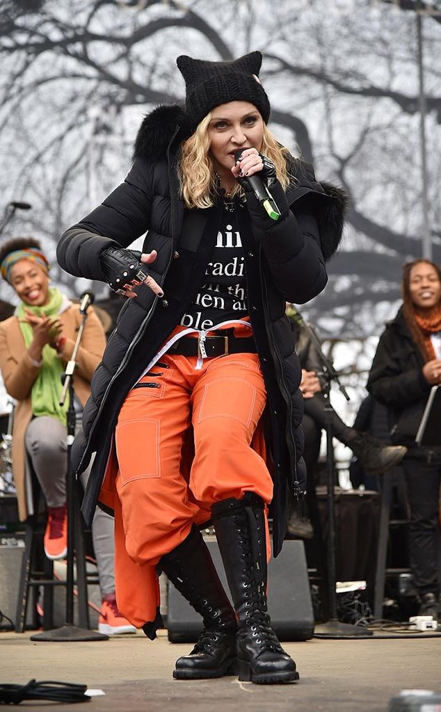Women's March, Madonna