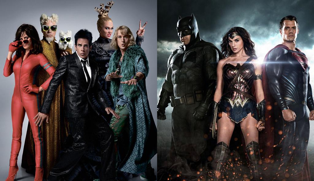 Zoolander 2, Batman V Superman