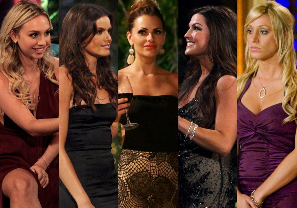 Corinne, Michelle, Courtney, Tierra, Vienna, The Bachelor, Villians