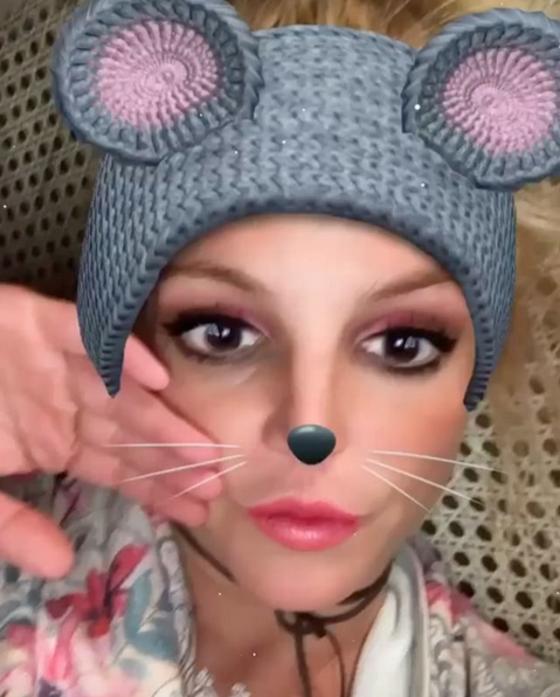 Britney Spears, Snapchat