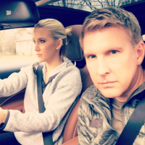 Todd Chrisley, Savannah Chrisley, Instagram