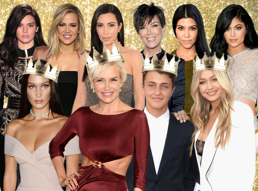 Kardashians, Hadids