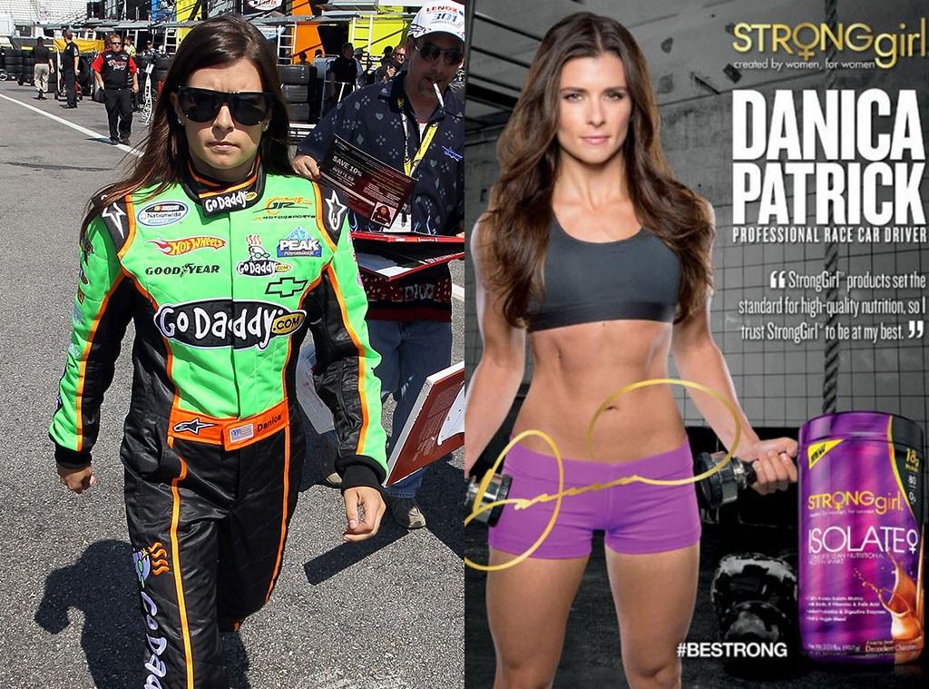 Danica Patrick, Athletes that Model