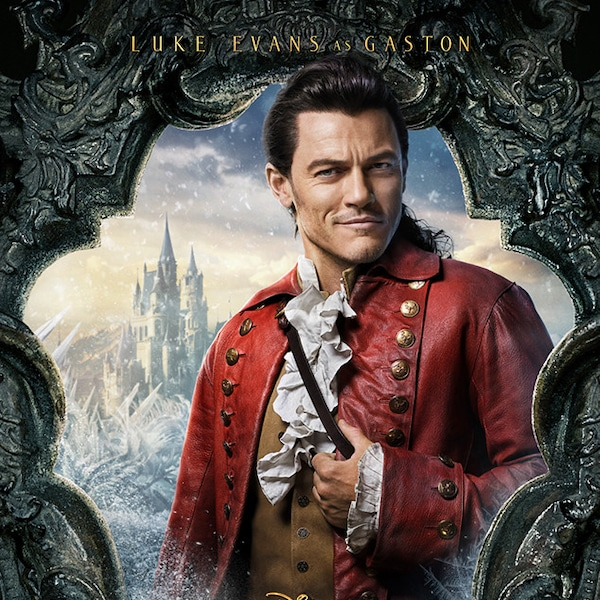 Pictures Posters News And Videos On Your: Luke Evans From Beauty And The Beast Character Posters