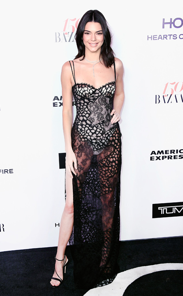 Kendall Jenner, Harper's Bazaar 150 Most Fashionable Women