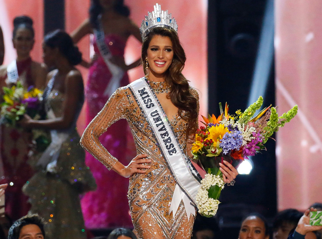 miss france iris mittenaere crowned miss universe 2016 e. Black Bedroom Furniture Sets. Home Design Ideas