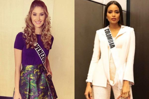 Miss Venezuela, Miss Colombia
