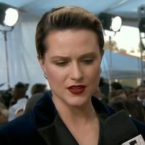 Evan Rachel Wood, 2017 SAG Awards