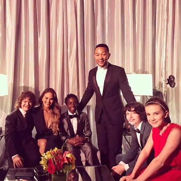 John Legend, Chrissy Teigen, SAG Awards 2017, Instagram